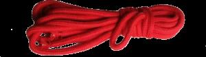 Corde bondage en coton rouge
